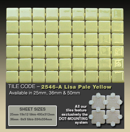 EZARRI LISA 2546A PALE YELLOW