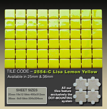 EZARRI LISA 2554C LEMON YELLOW