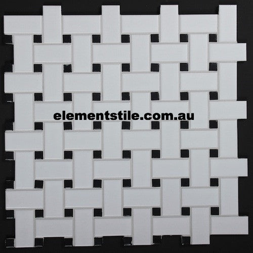 basketweave-white-black-matte-glazed-porcelain-mosaic-tile-elements-tile-and-stone-pty-ltd-au