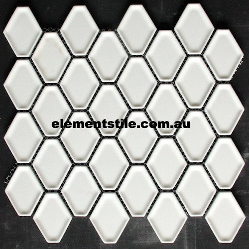 diamond-white-matte-glazed-porcelain-mosaic-tile-elements-tile-and-stone-pty-ltd-au
