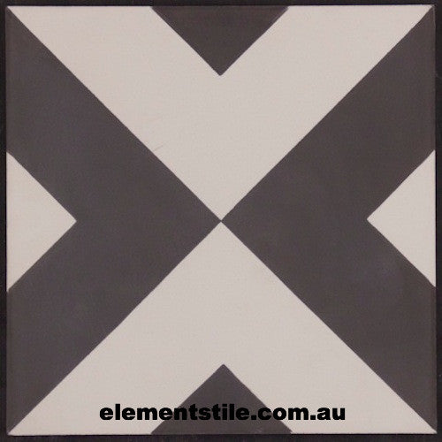inward-arrow-black-white-encastic-tile-elements-tile-and-stone-au