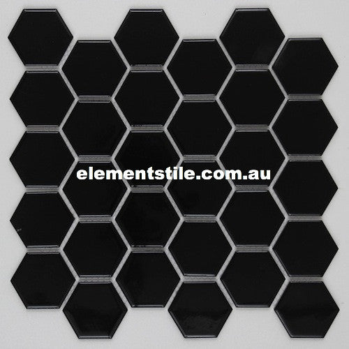 hexagonal-black-matte-glazed-porcelain-mosaic-elements-tile-and-stone-au