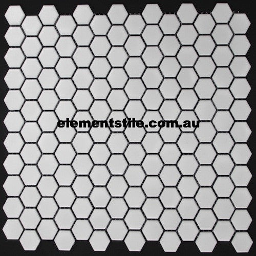hexagonal-mini-white-matte-glazed-porcelain-mosaic-23mm-elements-tile-and-stone-au