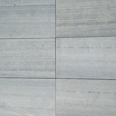 OCEAN BLUE WOOD VEIN LIMESTONE TILES