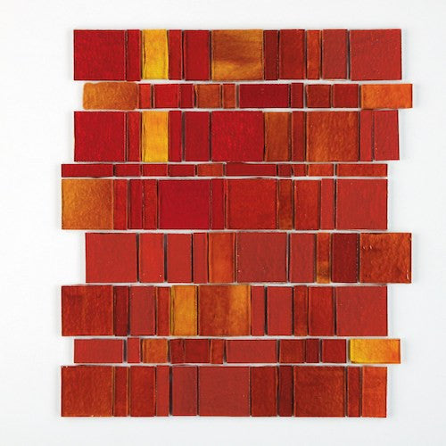 TREND GLASS MOSAIC LIBERTY RED