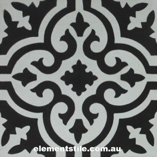 flower-nero-bianco-cement-encaustic-tiles-elements-tile-and-stone-pty-ltd-au