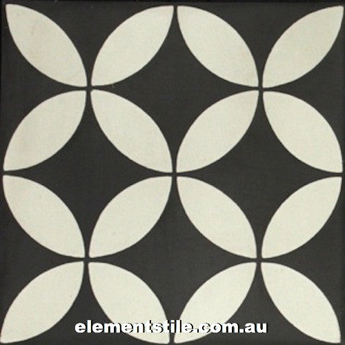 daisy-nero-bianco-cement-encaustic-tile-elements-tile-and-stone-pty-ltd-au