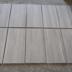 WHITE WOOD VEIN LIMESTONE TILES