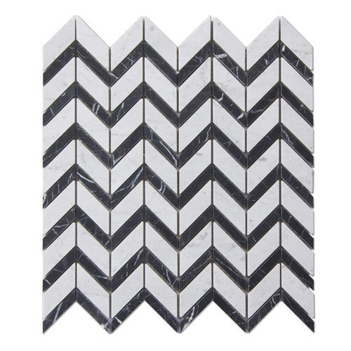 chevron-pattern-carrara-nero-marquina-marble-stone-mosaic-tile-elements-tile-and-stone-pty-ltd-au