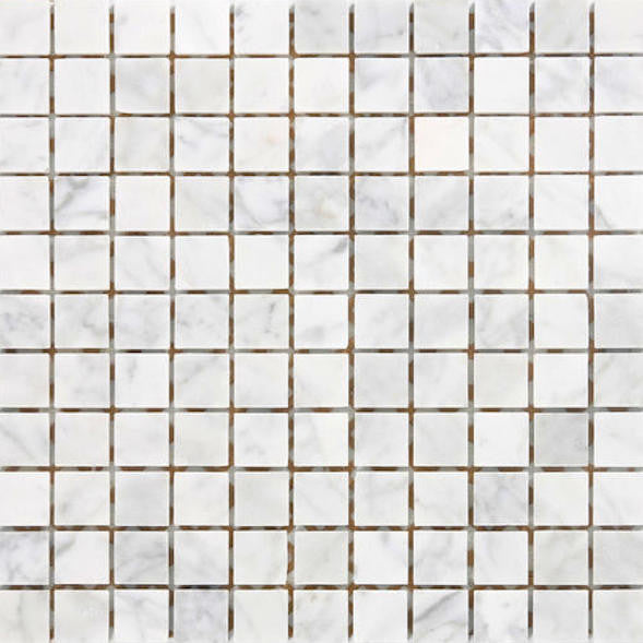 SQUARE CARRARA 23MM MOSAIC