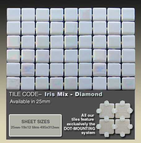 ezarri iris mix diamond @ elementstile.com.au