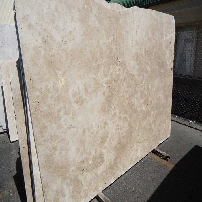 Travertine Noce Cross-Cut/ Honed/ Un-Filled 30mm