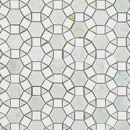 alhambra-ming-green-thassos-marble-mosaic-elements-tile-and-stone-pty-ltd