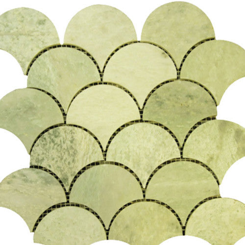 FAN MING GREEN MARBLE MOSAIC