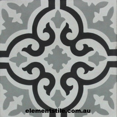 flower-gris-nero-bianco-cement-encaustic-tile-elements-tile-and-stone-pty-ltd-au