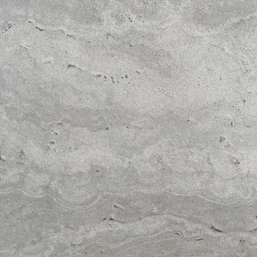 SILVER CROSS-CUT TRAVERTINE LOOK PORCELAIN