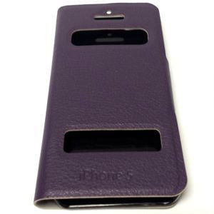 iPhone 5, Leather View Case Pur