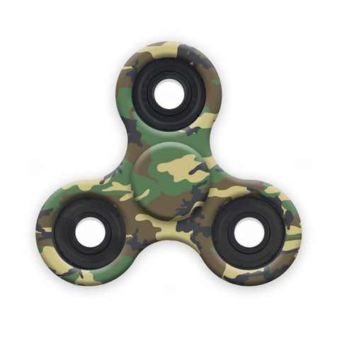 Premium Tri-Spinner, Camo Colors