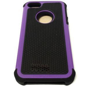 iPhone 5, Hybrid Case Purp/Blk