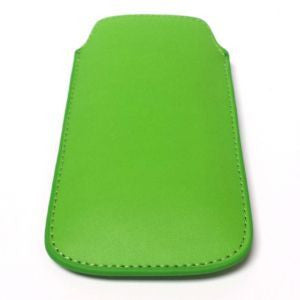 iPhone 5, Leather Pouch Green