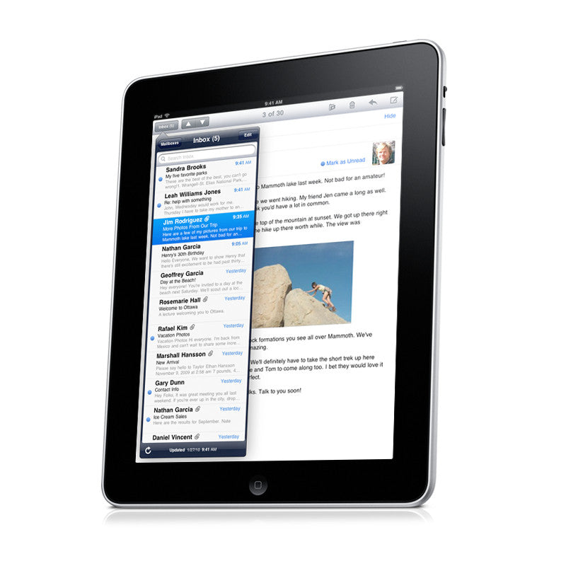 iPad 1st Generation, Screen Replacement - uDropped It Inc