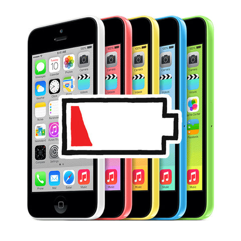 iPhone 5C, Battery