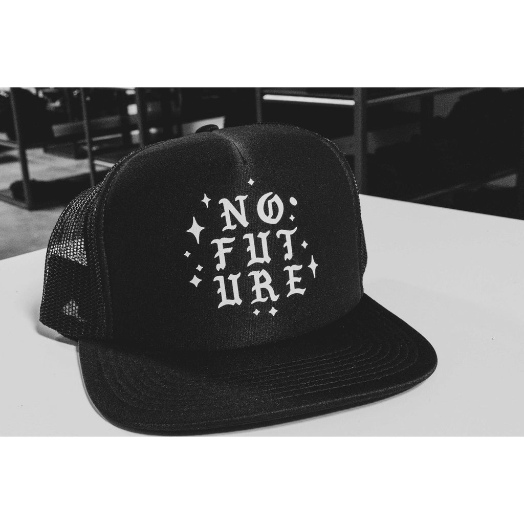 No Future Trucker Hat - Born Scum Clothing Co