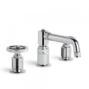 Industrica Basin Set (Cross Handles)