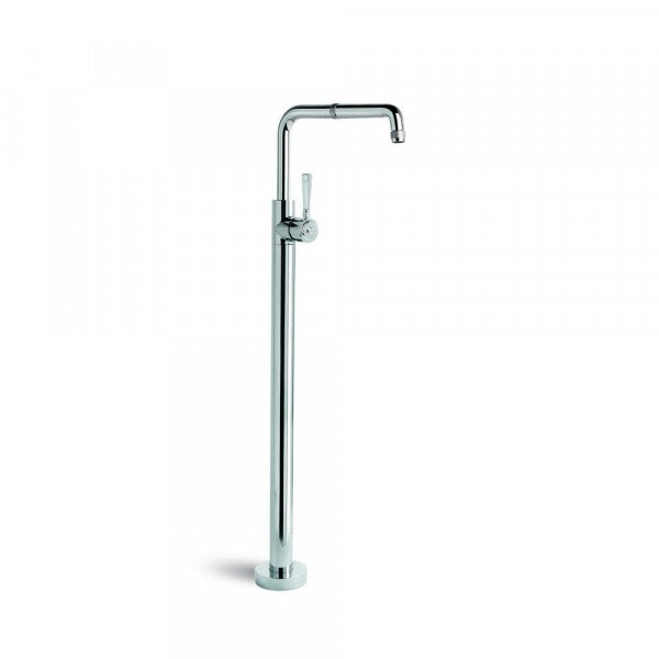 Industrica Bath Mixer Floor Mounted with Swivel Spout (Chrome)