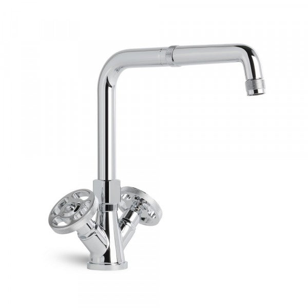 Industrica Kitchen Mixer with Swivel Spout (Chrome)