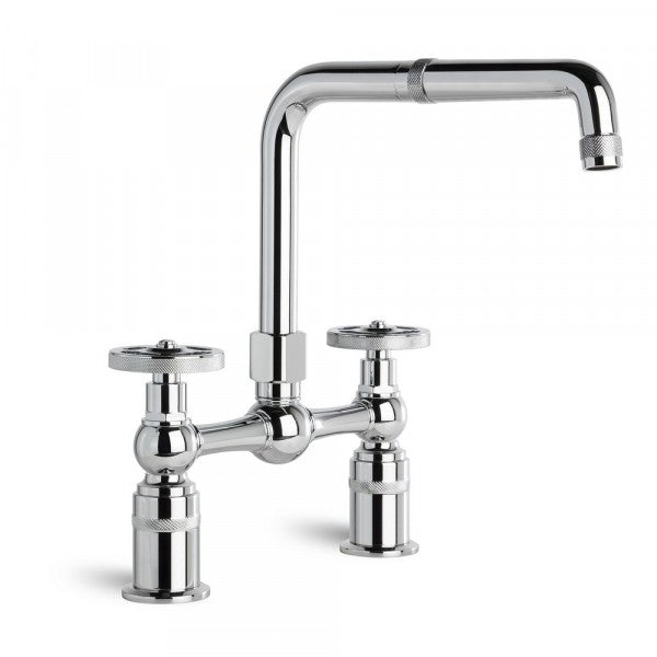 Industrica Kitchen Set with Swivel Spout (Chrome)
