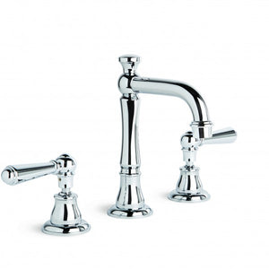Neu England Basin Set with Traditional Swivel Spout (Lever) (Chrome)
