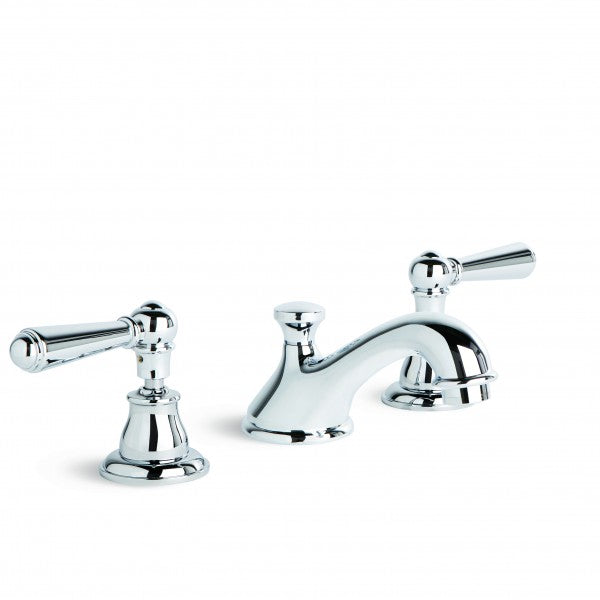 Neu England Basin Set with Fixed Cast Spout (Lever) (Chrome)