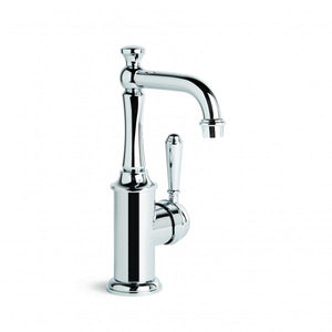 Neu England Basin Mixer Single Lever and Traditional Swivel Spout (Chrome)