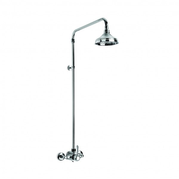 Neu England Shower Mixer Exposed with 150mm Rose (Levers) (Chrome)