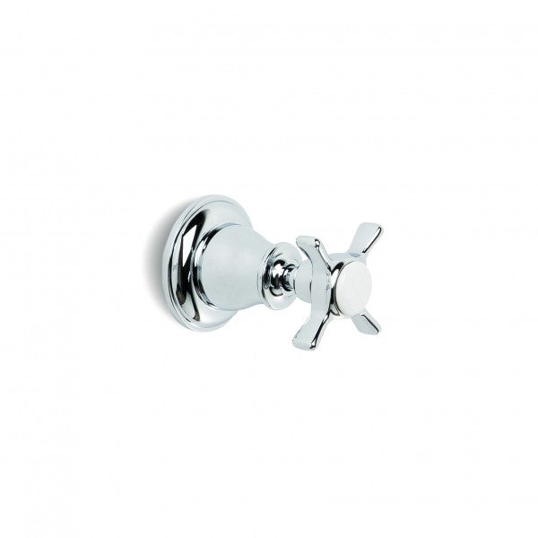 Neu England Bath/Shower Diverter (Cross Handles) (Chrome)