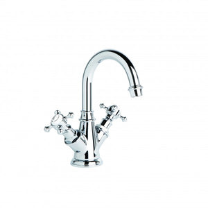 Winslow Basin Mixer with Swivel Spout (Cross Handles) (Chrome)