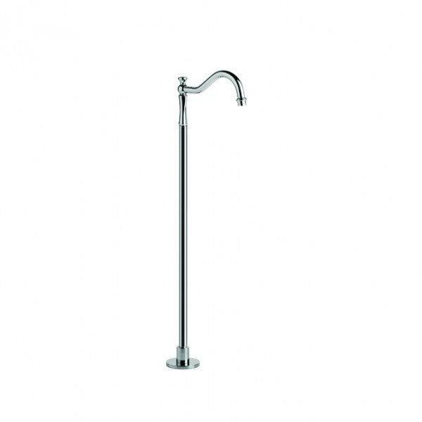 Winslow Floor Mounted Traditional Bath Spout (Chrome)