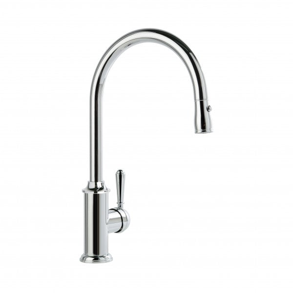 Winslow Kitchen Mixer Single Lever with Pull-out Spray (Lever) (Chrome)