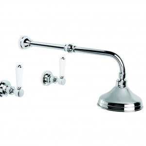 Winslow Shower Set with 150mm Ball Joint Rose (Lever) (Chrome)