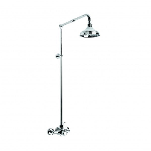 Winslow Shower Mixer exposed with 150mm Rose (Lever) (Chrome)