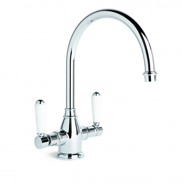 Winslow Kitchen Mixer with Swivel Spout (Lever) (Chrome)