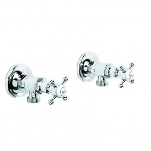 Winslow Washing Machine Taps, Pair (Chrome)