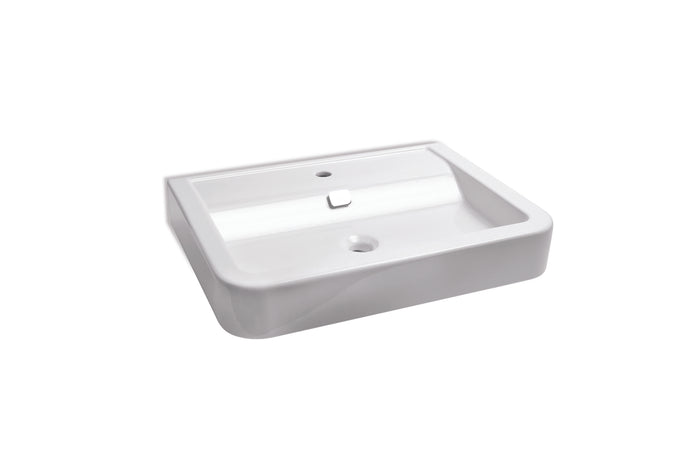 Michelangelo Basin 700 x 520 x 110 (White Porcelain)