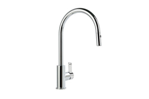 City Que Kitchen Mixer with Pullout Spray (Chrome)