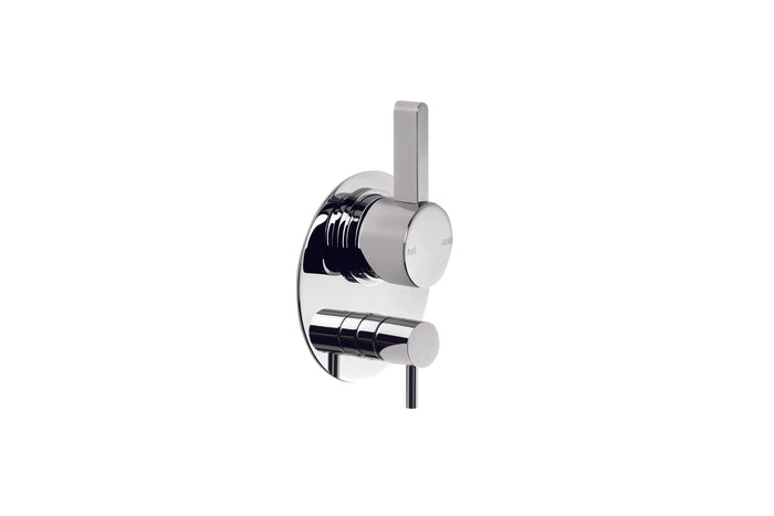 City Que Shower/Bath Mixer with Diverter (Chrome)