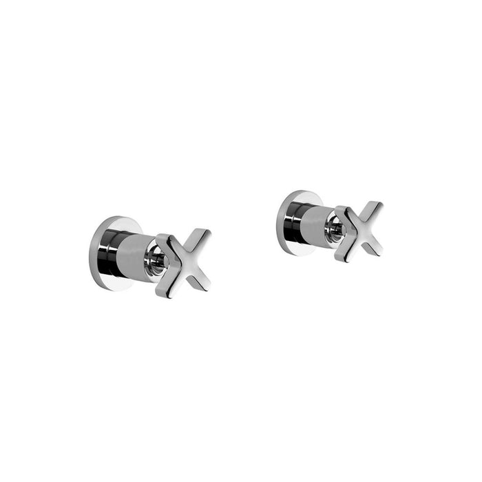 Brodware City Que Lever Wall Taps (Pair)