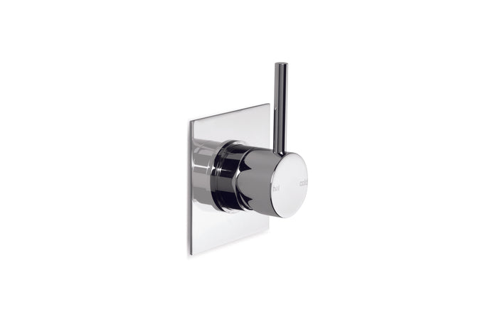 City Stik Shower/Bath Mixer with Square Plate (Chrome)