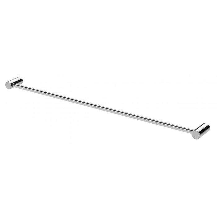 Vivid Slimline Single Towel Rail 800mm (Chrome)