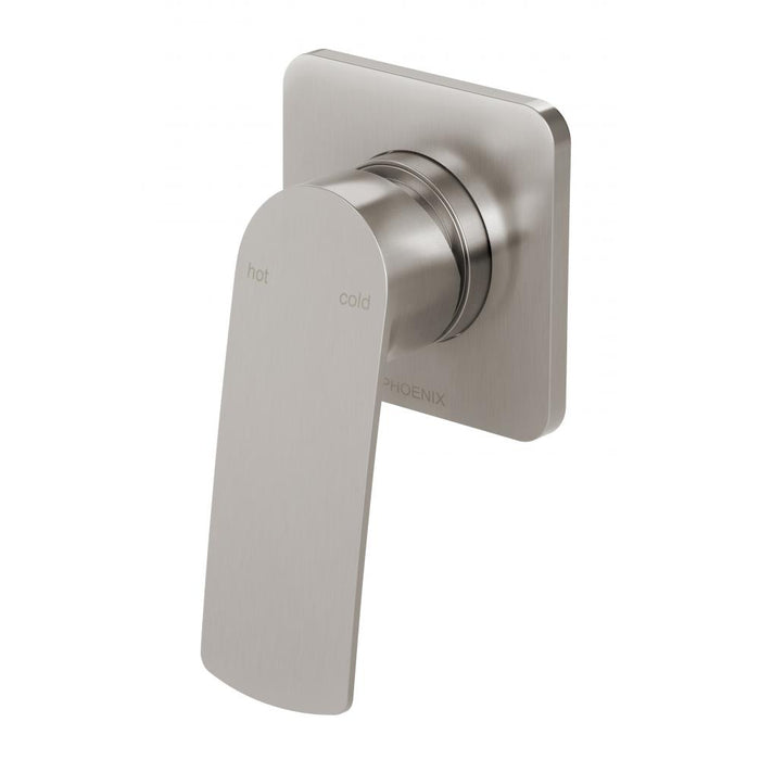 Mekko Shower Wall Mixer (Brushed Nickel)